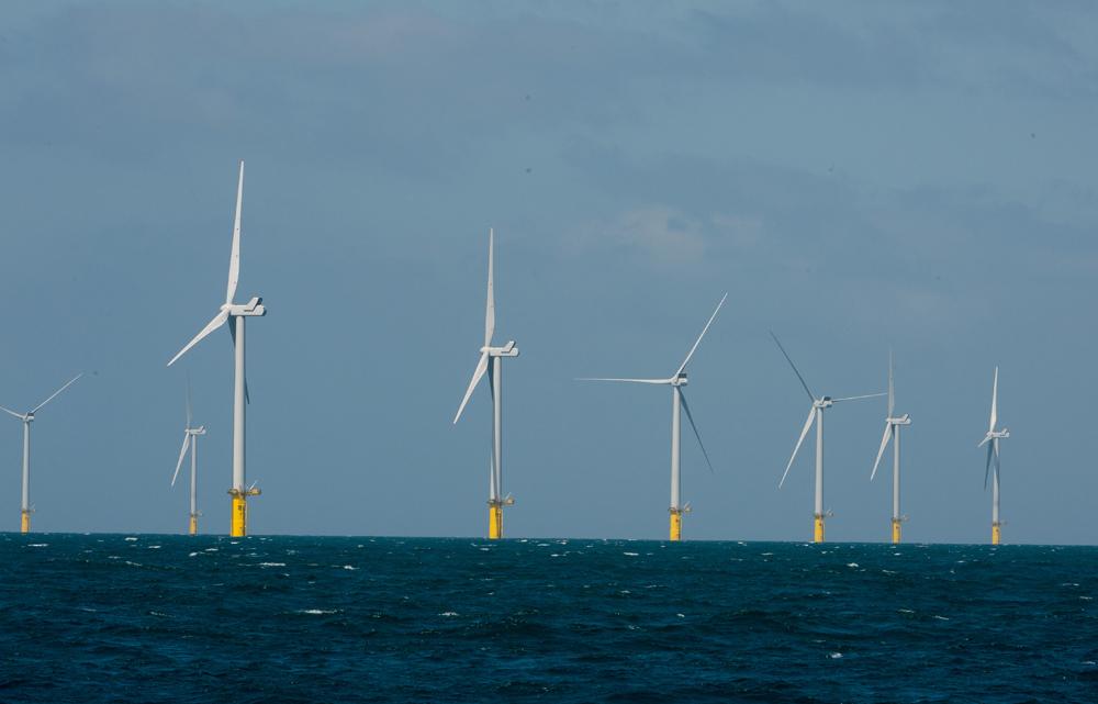 Rampion 1 Wind Farm Deep Blue Sea