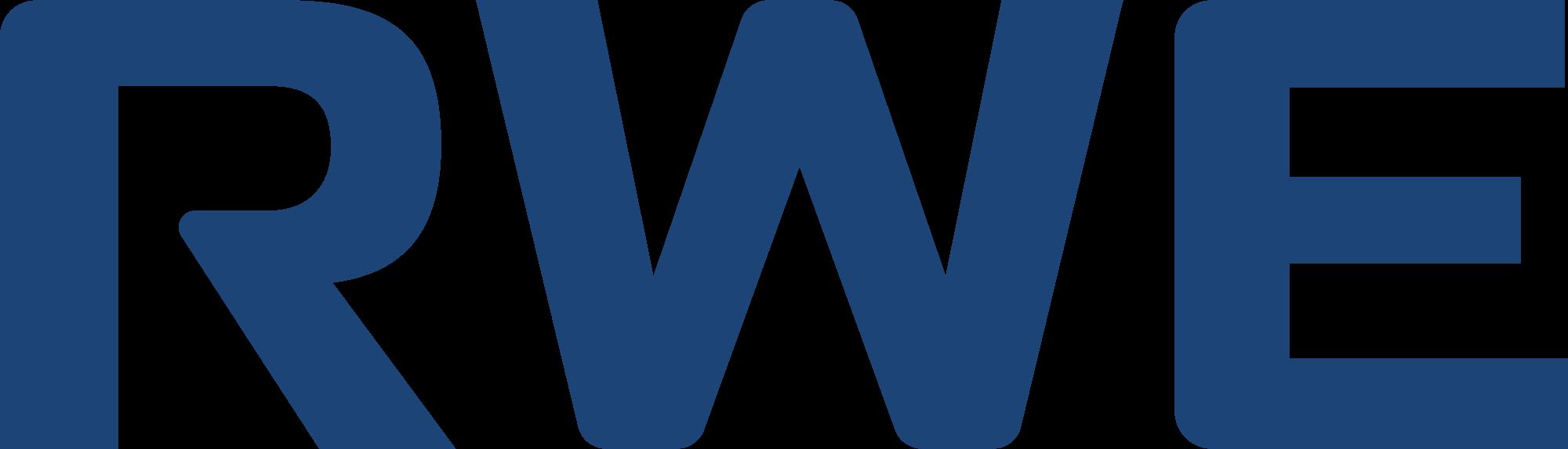 RWE logo blue RGB