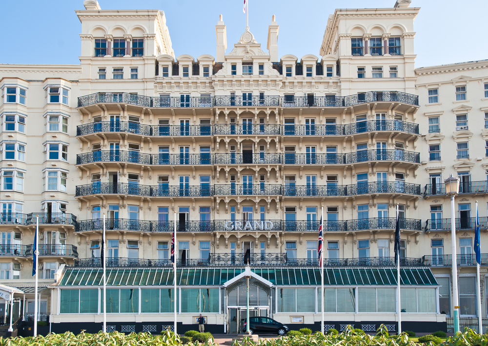 Local Grand hotel on Brighton seafront