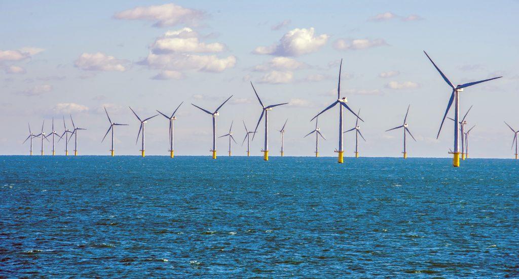 Existing Rampion Wind Farm